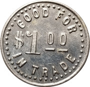 1 Dollar - Curry and Romine – reverse