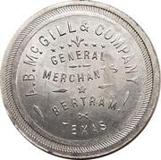 1 Dollar - A.B. McGill & Company – obverse