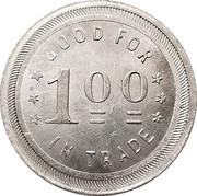 1 Dollar - A.B. McGill & Company – reverse