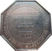 Token - Louis-Philippe I (Société libre d'agriculture, des Sciences, des Arts et des Belles-Lettres) – reverse