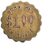 1 Dollar - E. A. Lingelbach (Holland, Iowa) – reverse