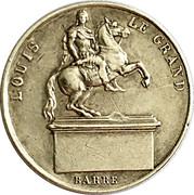 Token - Louis XVIII (August 25, 1822) – obverse