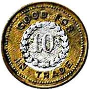 10 Cents - Barnett - Rumble Co. – reverse