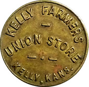 25 Cents - Kelly Farmers Union Store – obverse