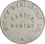50 Cents - Musick Mercantile Co. – obverse
