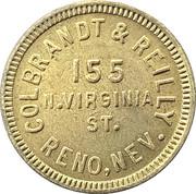12 ½ Cents - Colbrandt & Reilly (Reno, Nevada) – obverse