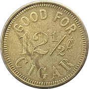 12 ½ Cents - Colbrandt & Reilly (Reno, Nevada) – reverse