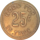 25 Cents - Anthony Mannebach (Colwich, Kansas) – reverse