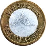 12 ½ Cents - Mint Cigar Store (Great Falls, Montana) – obverse