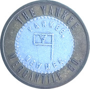 1 Dollar - The Yankee Mercantile Co. (Yankee, New Mexico) – obverse