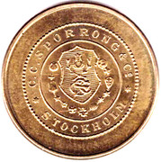 Transport Token - Carlsens – reverse