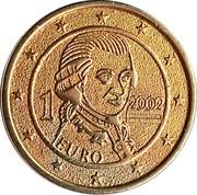 Token - 1 Euro 1999-2002 Specimen – obverse