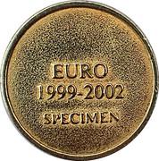 Token - Beatrix (Euro 1999-2002 Specimen) – reverse