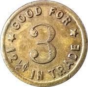 12 ½ Cents - Hemenway & Moser – reverse