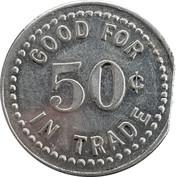 50 Cents - E. L. Frey – reverse