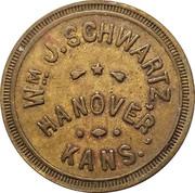 25 Cents - Wm J. Schwartz – obverse