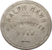 25 Cents - Ralph Haws – obverse
