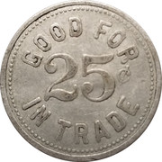 25 Cents - Ralph Haws – reverse