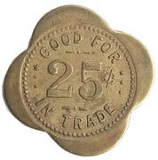 25 Cents - E. A. Lingelbach (Holland, Iowa) – reverse