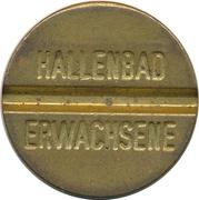 Public Swimming Pool Token - Hallenbad (adult) – obverse