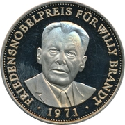 Token - Deutschland (Willy Brandt) – obverse