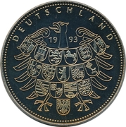 Token - Deutschland (Willy Brandt) – reverse