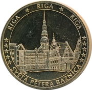 Token - Europe (Riga) – obverse