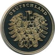 Token - Deutschland (Paul Lincke) – reverse