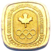 Token - Canadian Olympic Association (Cycling) – reverse