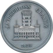 Token - Karl Friedrich Schinkel (Jagdschloss Granitz) – reverse