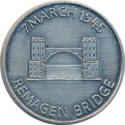 Token - 9th Engineer Battalion (Remagen Bridge) – reverse