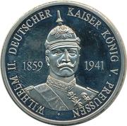 Token - Bundesrepublik Deutschland (Wilhelm II) – obverse