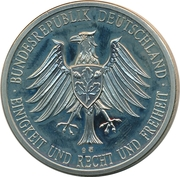 Token - Bundesrepublik Deutschland (Wilhelm II) – reverse