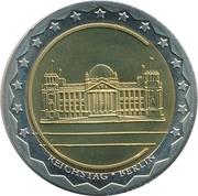Token - Währungsunion Europa (Berlin - Reichstag) – obverse