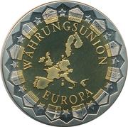 Token - Währungsunion Europa (Berlin - Reichstag) – reverse