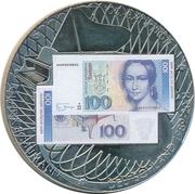 Token - 100 Deutsche Mark – obverse