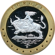 Token - Europe (Deutsche Währung) – reverse