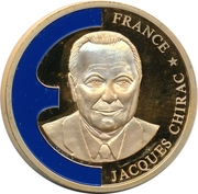 Token - Europe (France - Jacques Chirac) – obverse