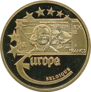 Token - Europe (Belgium - 100 Francs) – obverse