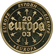Token - Europe (Belgium - 100 Francs) – reverse
