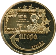 Token - Europe (Spain - 5000 Pesetas) – obverse