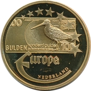 Token - Europe (Netherlands - 100 Gulden) – obverse