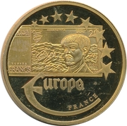 Token - Europe (France - 20 Francs) – obverse