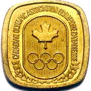 Token - Canadian Olympic Association (Pentathlon Mod.) – reverse
