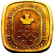 Token - Canadian Olympic Association (Track and Field) – reverse