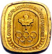 Token - Canadian Olympic Association (Weightlifting) – reverse