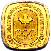 Token - Canadian Olympic Association (Wrestling) – reverse