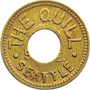 12½ Cents - The Quill (Seattle) – obverse