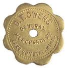 10 Cents - D. T. Owens – obverse
