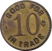 10 Cents - Rainelle Supply Co. – reverse